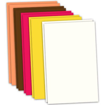 CRAFT ARTIST Flower Moulding Foam 10 x A4 Sheets 2 of each col AUTUMN CT27829-4