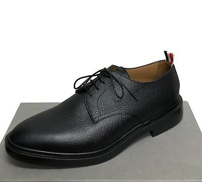 b2c80a7b7d4 Like us on Facebook · $690 THOM BROWNE Black Pebble Grain Derby Lightweight  Sole New Shoes Size 12