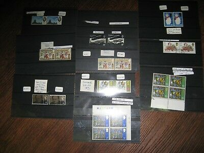 Errors Collection Of 10 Stamps Decimal & Pre-Decimal  Mistakes