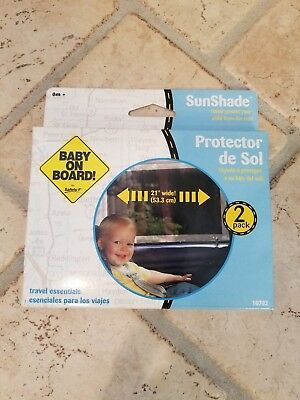 Safety 1st Baby on Board Sun Shade Protector (set of 2)