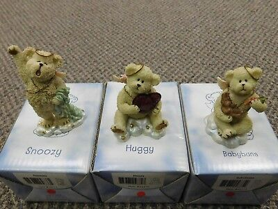 "Group Lot Of 3 ~ Boyds Bears And Friends ""lil'wings"""