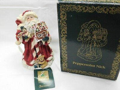 "Boyds Bears & Friends ""peppermint Nick"" Figurine ~  Lights Up"