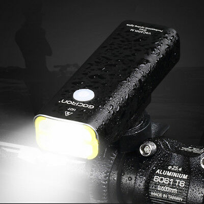 Handlebar Lights USB Rechargeable LED Bicycle Lamps Bright Bike Front Headlights