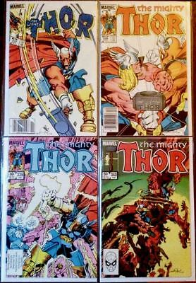 The Mighty Thor #337, 338, 339, 340 - Full Set! 1st Appearance of BETA RAY BILL!