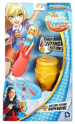 Dc Super Hero Girls Action Flying Supergirl