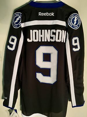 Reebok Premier NHL Jersey Tampa Bay Lightning Tyler Johnson Black sz S