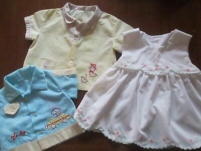 Vintage Retro Children's Lot clothing Baby Toddler Other Or Doll Clothes