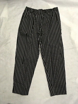 """NEW Chef Works NBCP-000-L Checkered Baggy Designer Chef Pants /""""Large/"""" 2"""