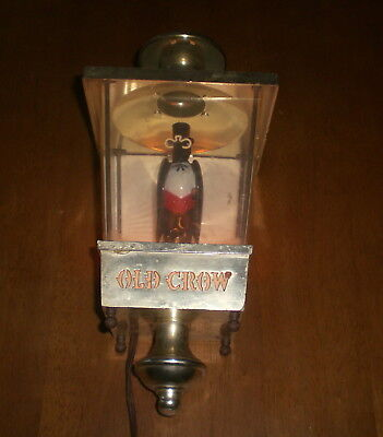 Old Crow Whiskey Electric Light - Vintage
