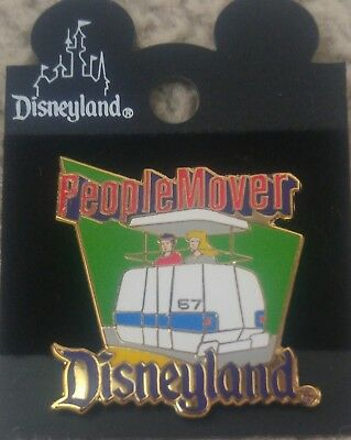 1998 Disneyland People Mover Old Attraction Series Tomorrowland Disney Pin, Moc