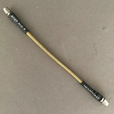 """8"""" MegaPhase GrooveTube 520 series Low Loss Cable w/ 3.5mm SMA (m) Connectors"""