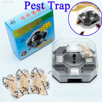 9F4B 259F Eco-Friendly Non-Toxic Cockroach Insect Roach Trapper Catcher Repeller