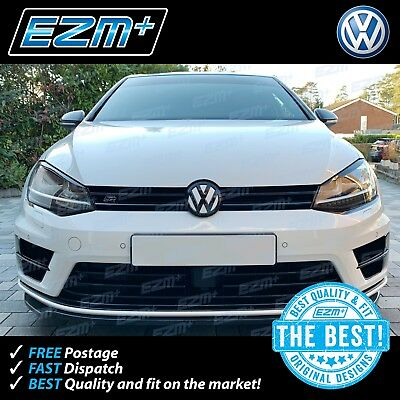 EZM VW Golf 7 MK7 R Front Bumper Vent Scoop Bar Overlay Decals Stickers