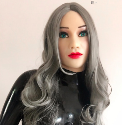 Realistic Sexy Female Latex Medical Silicone Rubber Mask Masken Puppen