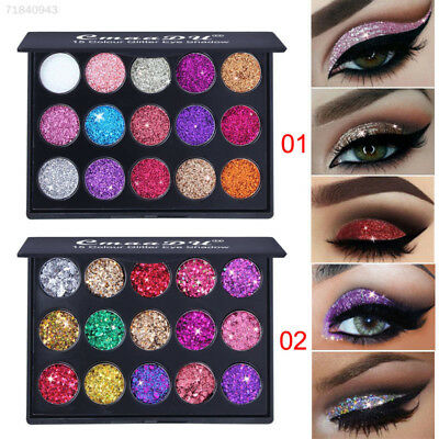 EDED Eyeshadow Palette Paillette 15 Colors Glitter Eye Shadow Diamond Makeup
