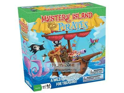 Mystery Island Pirates A Wild & Wicky Race For Treasure Family Board Game