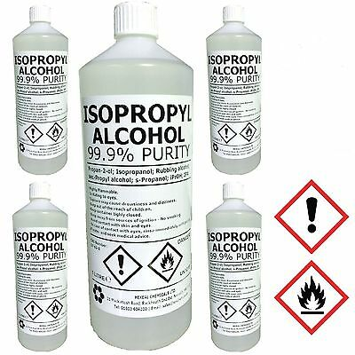 Alcohol Isopropyl Isopropanol 99 Ipa Choose 25 Litre Acs 70 Size And Cap Adapter