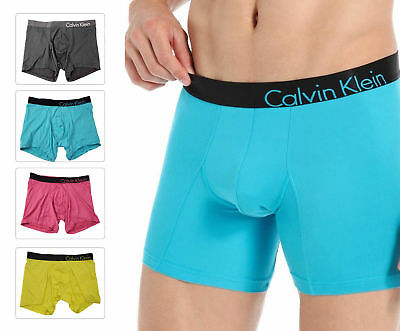 Calvin Klein Men's U8911 Ck Boxer Bold Micro Seamless Underwear Brief Low