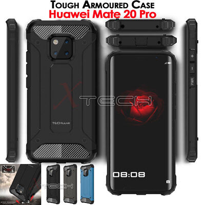 TOUGH ARMOURED Shock Proof Hard Protective Case Cover for Huawei Mate 20 Pro