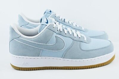 Nike Air Force 1 '07 Low Mens Multi Size Shoes Armory Blue 315122 422 Gum
