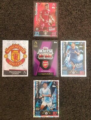 2018/19 English Premier League Match Attax - Pack of 30 cards incl Limited Ed