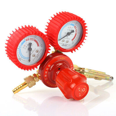 Red Boutique Acetylene Oxygen Meter Oxygen Acetylene Regulator Pressure Relief
