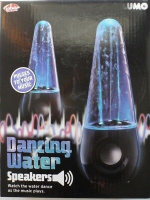 ... Mini Music Source · Pair of LED Water Dancing Fountain USB Stereo Speakers for Tablet Phone PC Mp4