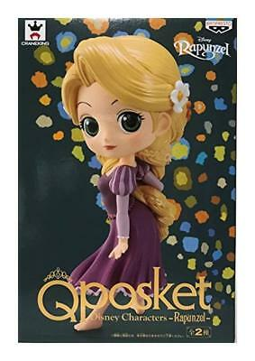 New Rapunzel Q posket Disney Princess Characters Figure Japan With Tracking #