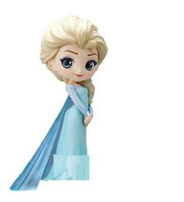 New Elsa Q posket Disney Princess Characters Figure Japan With Tracking #