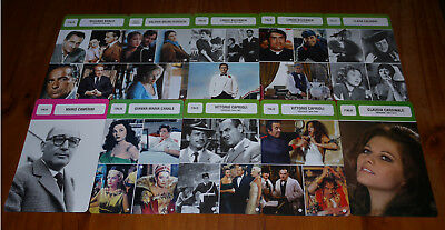 Lot De 10 Fiches Monsieur Cinema / Italie