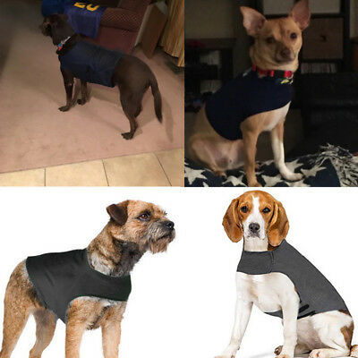 Pet Dog Calm Anti-Anxiety Jacket Stress Relief Vest Coat Cotton Soft Costume US