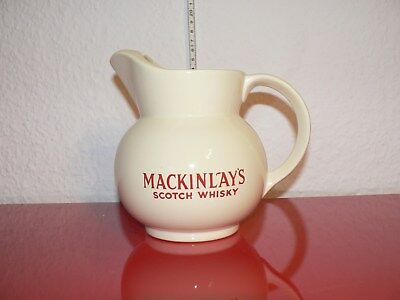 Mackinlay`s Scotch Whisky Jug Wasserkrug Krug Eiswasserkrug Whiskey Man Cave