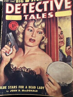 pulp Magazine Detective Tales