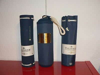 Talisker 10 Y Scotch Whisky Maritime Tubes Umverpackungen Whiskey Man Cave
