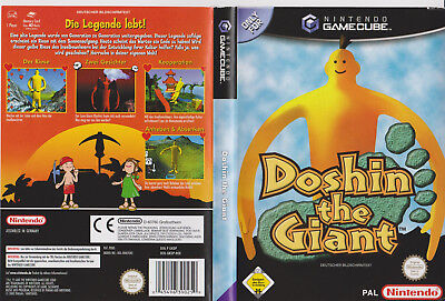Doshin the Giant >Originale Verpackung in DVD-Hülle  Selten   GameCube