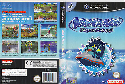 Wave Race Blue Storm >Originale Verpackung in DVD-Hülle  Selten   GameCube
