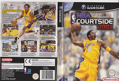 NBA Courtside >Originale Verpackung in DVD-Hülle  Selten   GameCube