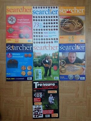 The Searcher Magazine Job Lot Metal Detecting Treasure Hunting 2007 7 ISSUES