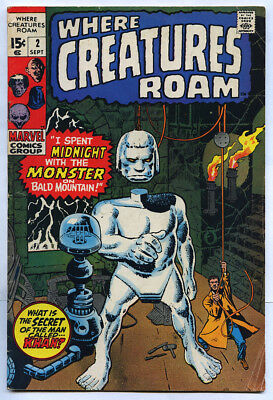 4 # 2 issues! Where Creatures Roam Uncanny Tales Vault Of Evil ROM Marvel Lot FN