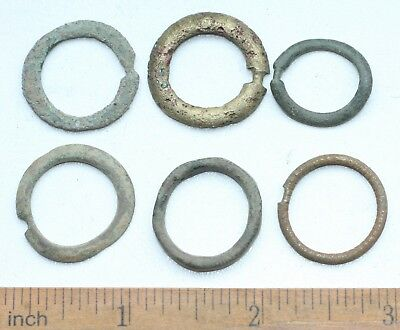 Group Of Ancient Old Bronze Fibula Brooch (NW01)