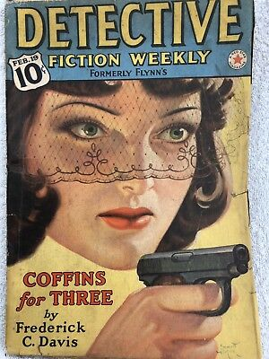 Detective Fiction Weekly Pulp Magazine
