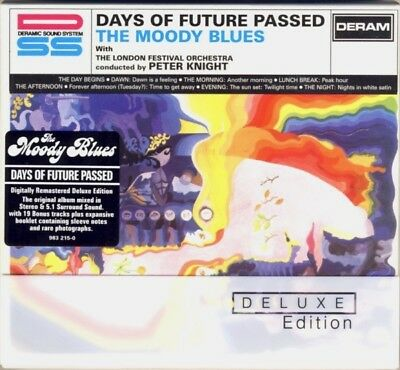 DERAM 2x SACDs 983-215-0: The Moody Blues - Days of Future Passed 2006 EU Deluxe