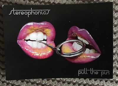 "Stereophonics ""Pull The Pin"" Promotional Postcard From 2007 - Kelly Jones"