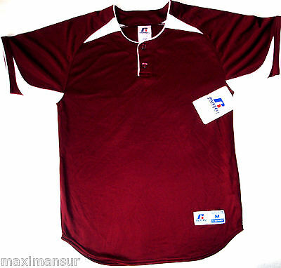 Orig. RUSSELL Athletic TEAM USA Little League Baseball Shirt NEU RAR Size XL Red