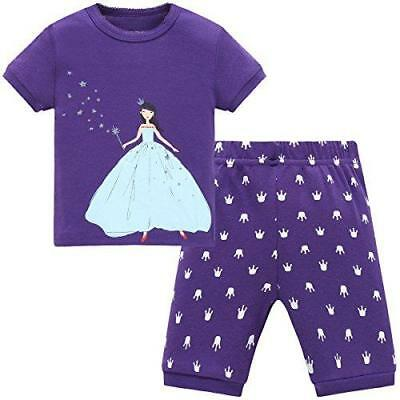 Girls Princess Pajamas Set -6 years- by Schmoopy--NEW