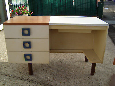 A 1970's Dressing Table and Bedside Table