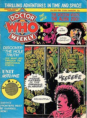 DOCTOR WHO WEEKLY - ISSUE 32 - 21 May, 1980 / Free P&P