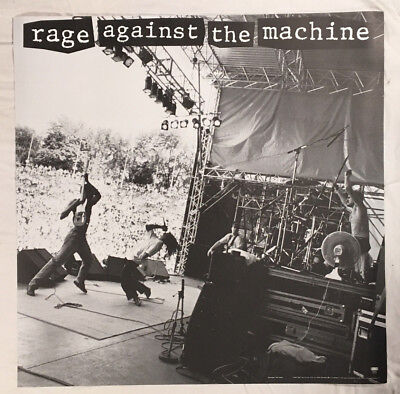 Rage Against The Machine 1993 Promo Poster Matte RATM New Condition