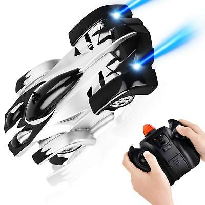 RC Remote Control Car USB Rechargeable Wall Climbing Car Toys 360° Rotating New