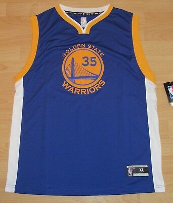 dc61ddf2e8c Adidas Golden State Warriors Kevin Durant #35 Away Jersey Size Youth XL